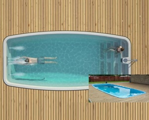 Hồ bơi Composite JF 05